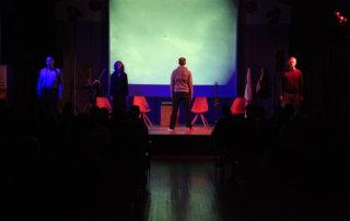 Szenenausschnitt Axensprungtheater